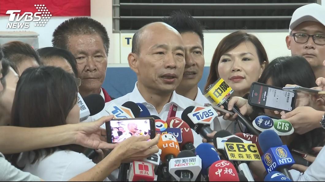 圖/TVBS資料畫面 又轟一例一休 韓國瑜:卡老闆喉嚨、餓勞工肚子