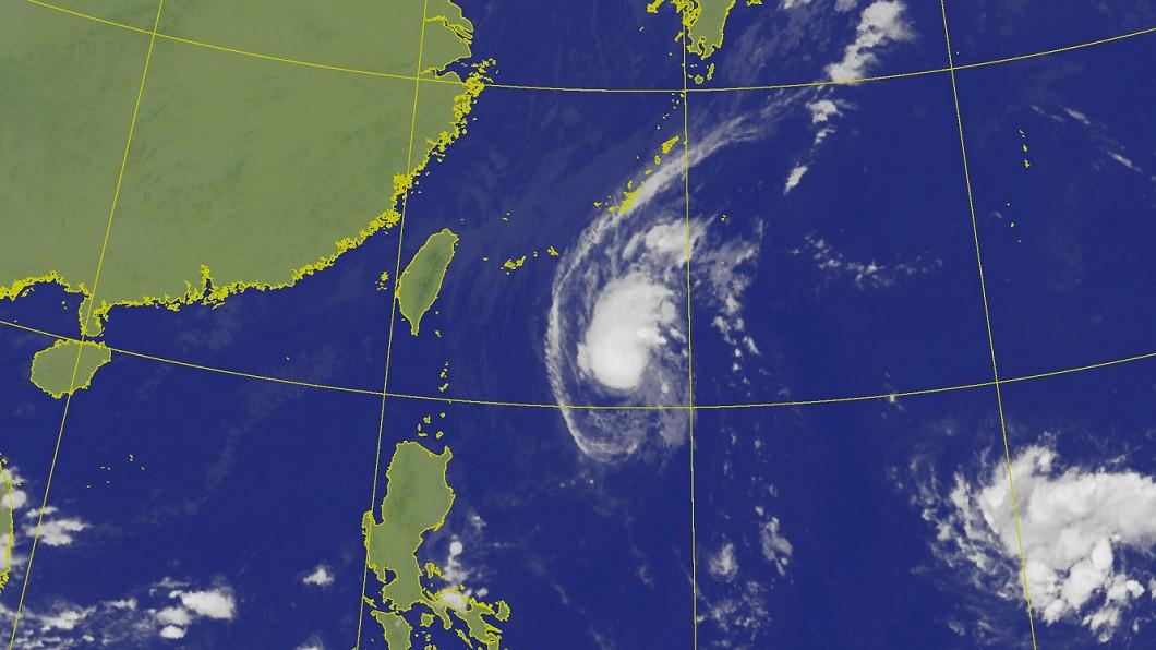圖/翻攝中央氣象局 21號颱風「博羅依」可能生成!預測路徑朝台菲前進