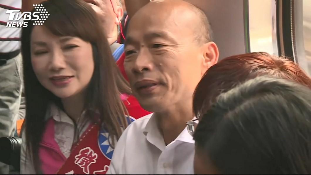 國民黨總統參選人、高雄市長韓國瑜。圖/TVBS資料畫面 周錫瑋曝選舉「2大現象」:韓國瑜已跨越藍的範圍