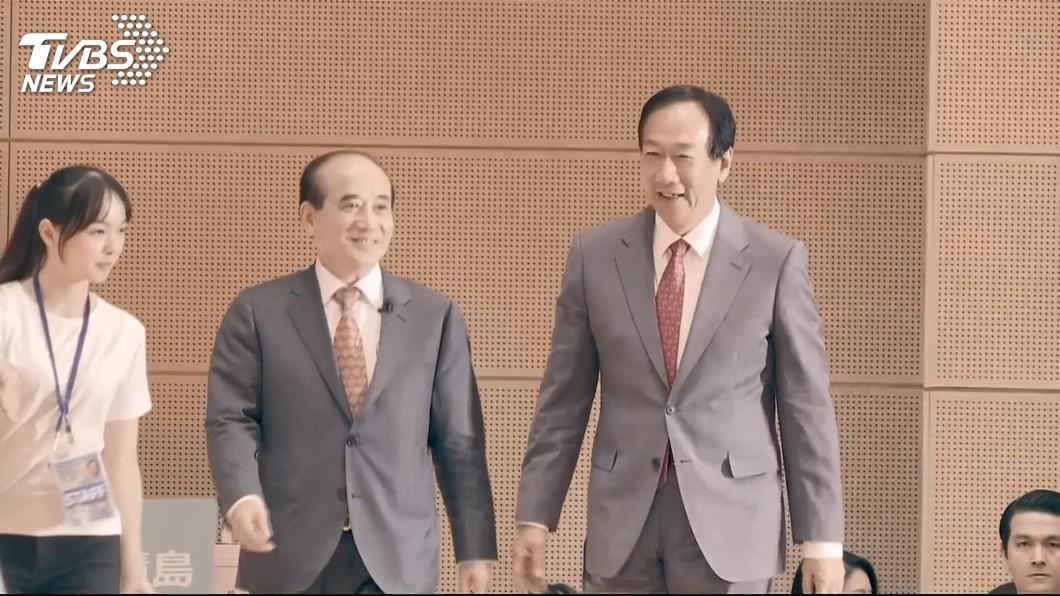 圖/TVBS 郭台銘:國民黨總統初選 像比賽聽電話