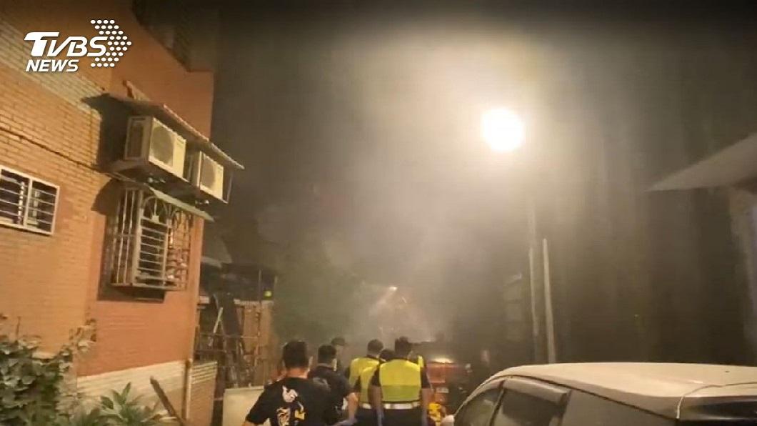 圖/TVBS 鶯歌惡火釀3死 4建築物易引「煙囪效應」釀重災