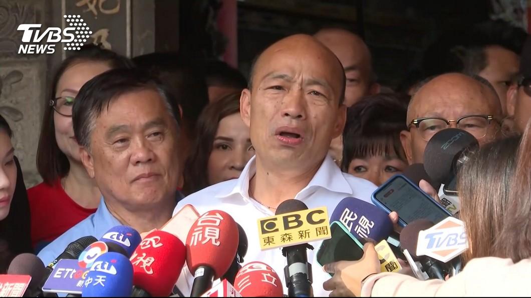 圖/TVBS 韓國瑜「傾聽之旅」申請路權失敗 水上鄉公所這樣說