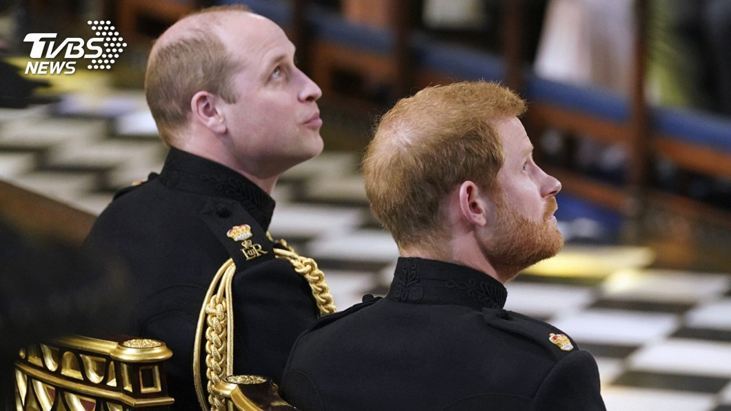 圖/達志影像美聯社 哈利王子認了! 和哥哥威廉「心有千千結」