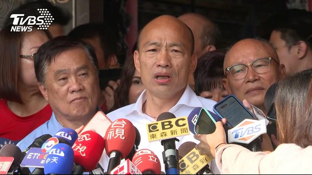 圖/TVBS 台派人赴港押解陳同佳 韓國瑜:終於有實際作為