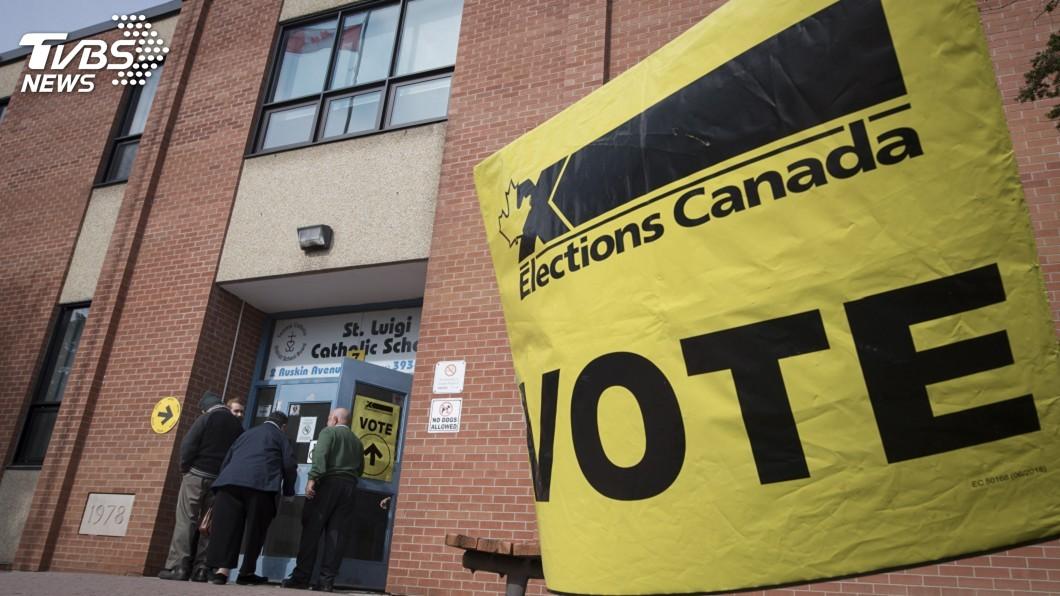 圖/達志影像美聯社 加拿大大選少數政府幾成定局 台僑投票關注
