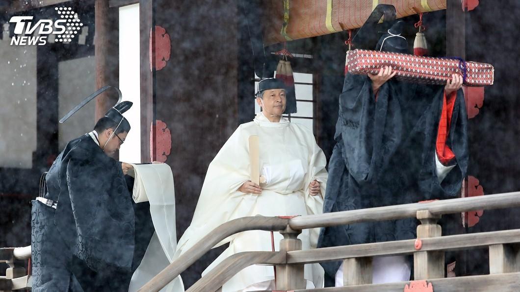 圖/達志影像美聯社 日皇德仁即位禮 東京2.6萬警力維安防恐攻
