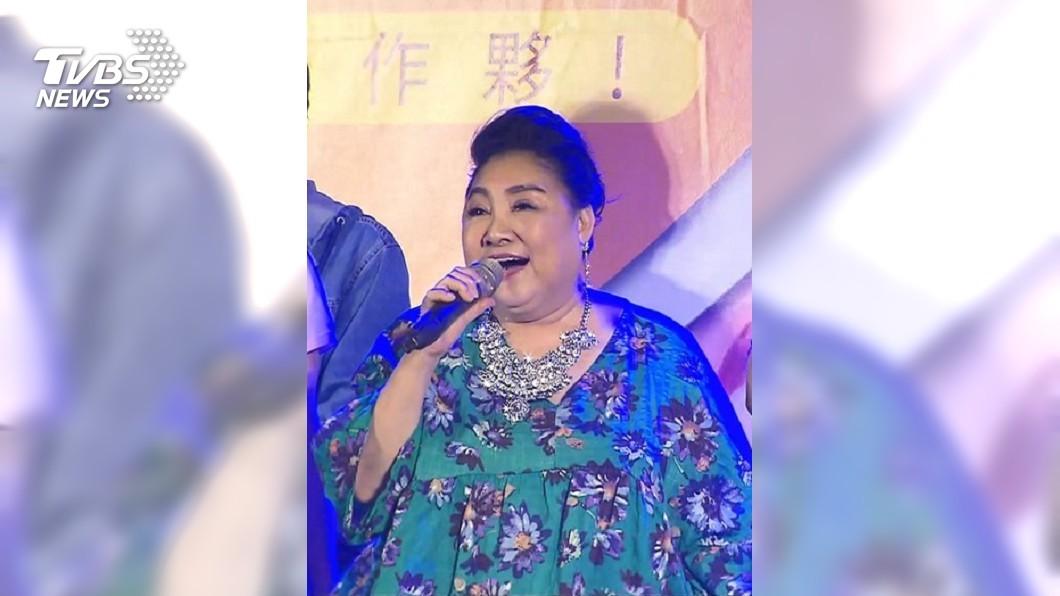 圖/TVBS資料畫面 陳盈潔傳「口齒不清」小中風 感激賀一航當時神解圍