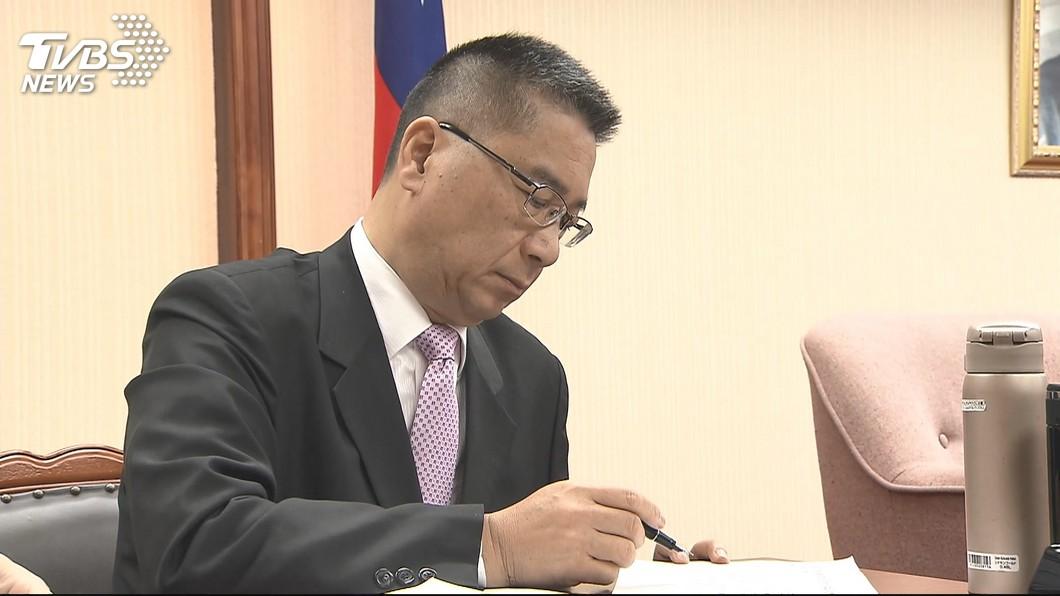 圖/TVBS 徐國勇見管浩鳴 藍委要求公布錄音與紀錄