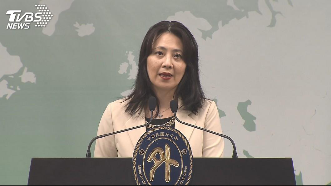 圖/TVBS 「安倍賀電是真的」 外交部:來自地方事務所