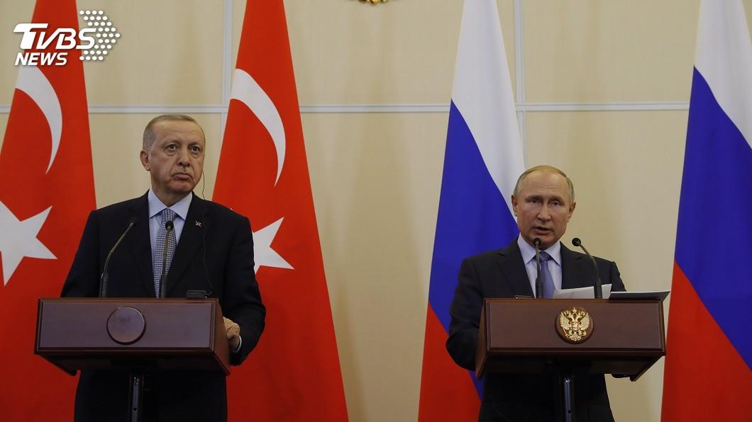 圖/達志影像美聯社 土耳其暫停攻勢期限將屆 艾爾段與普欽關鍵會晤