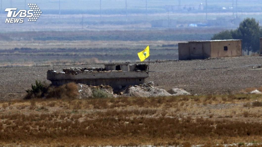 圖/達志影像美聯社 土俄總統達協議 庫德民兵須從敘邊界後退30公里