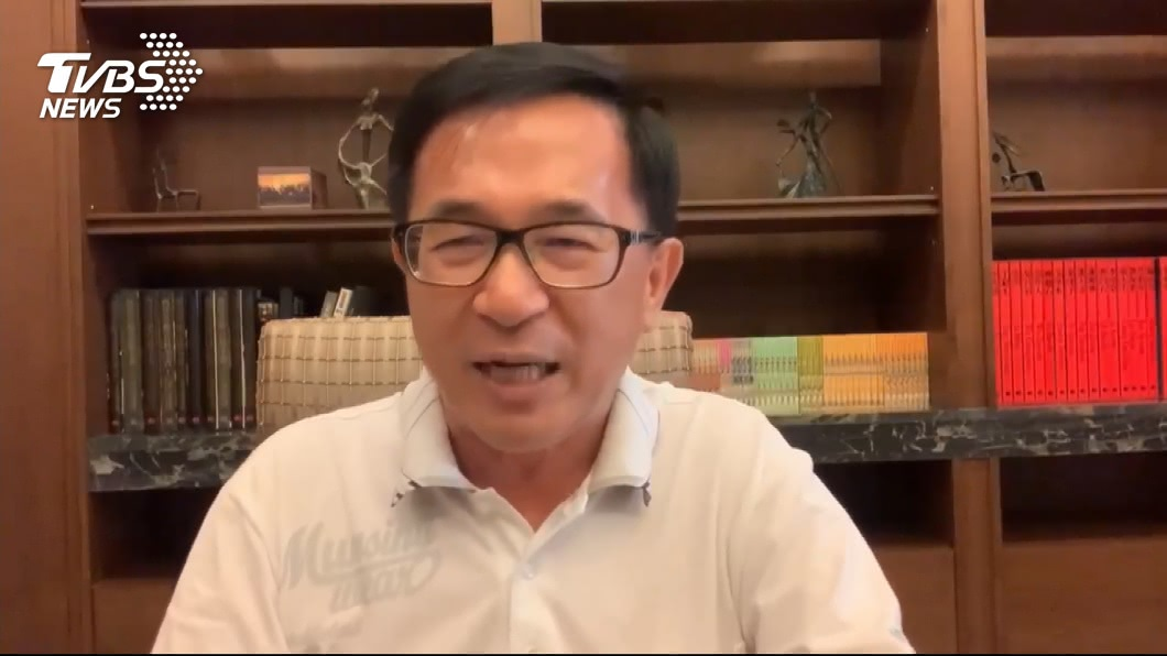 圖/TVBS 蔡民調被韓國瑜拉近! 陳水扁點出關鍵原因