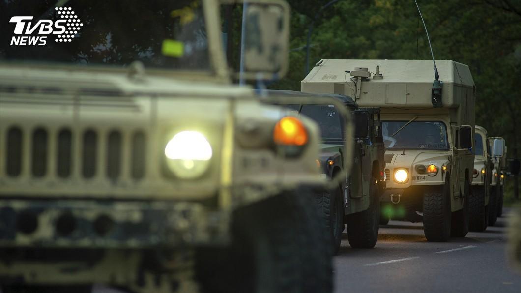 圖/達志影像美聯社 川普減少駐軍喊假的? 全球部署美軍仍達20萬