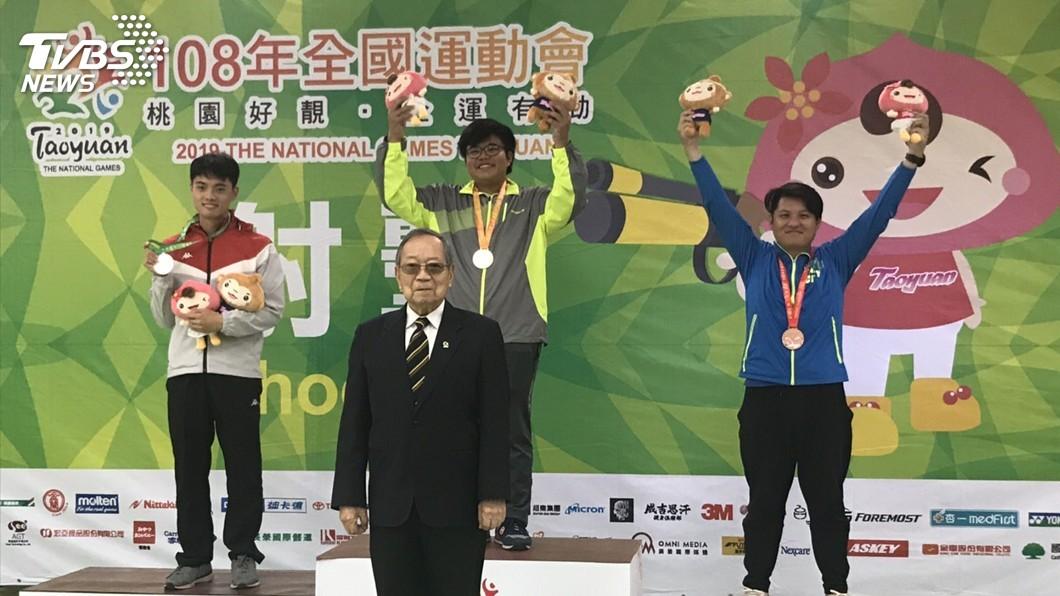 圖/台東縣政府提供 全運會技壓群雄 金利偉華最年輕神射手