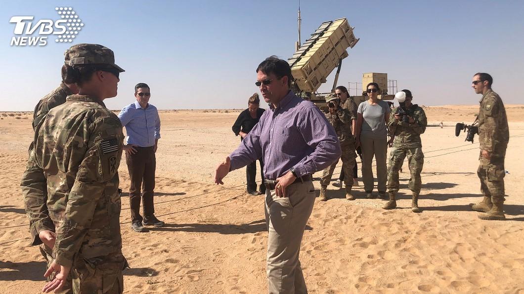 圖/達志影像路透社 駐敘美軍撤離牽動中東情勢 美防長訪伊拉克