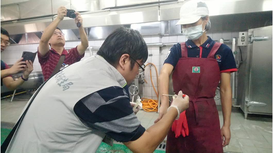 圖/翻攝自台南衛生局 快訊/新市國中疑食物中毒 236師生嘔吐腹瀉