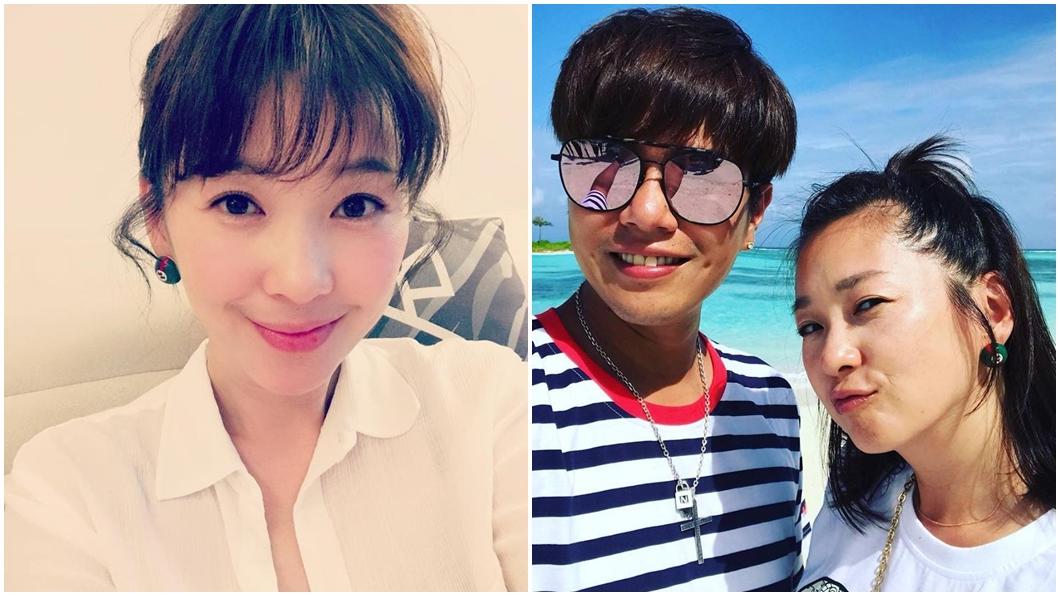 43歲女星六月(蔡君茹)和男星李易結婚8年。圖/翻攝六月臉書 老公不要第三胎!卵巢出問題 六月求醫開春藥