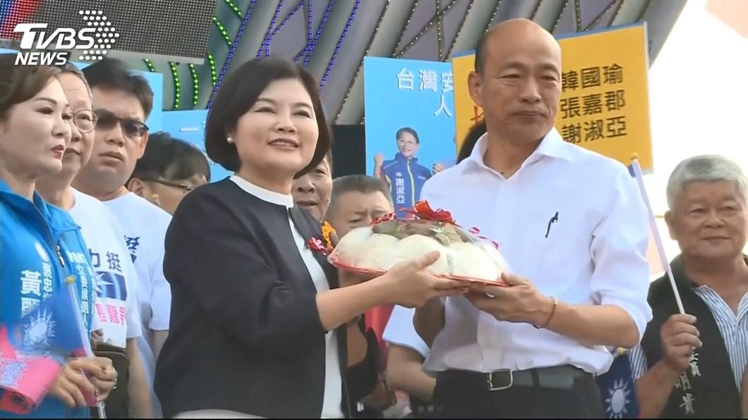 圖/TVBS 雲林女婿返鄉造勢 韓國瑜承諾力拚農漁貨外銷