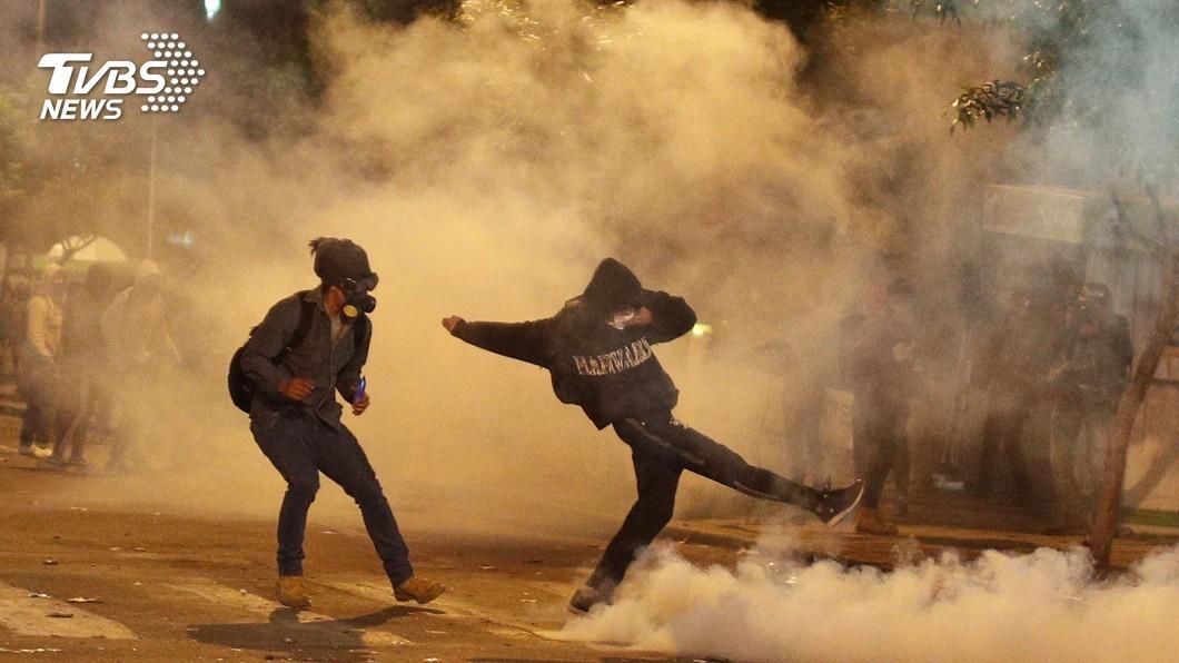 圖/達志影像美聯社 玻利維亞爆發反獨裁 示威人民質疑政府作票