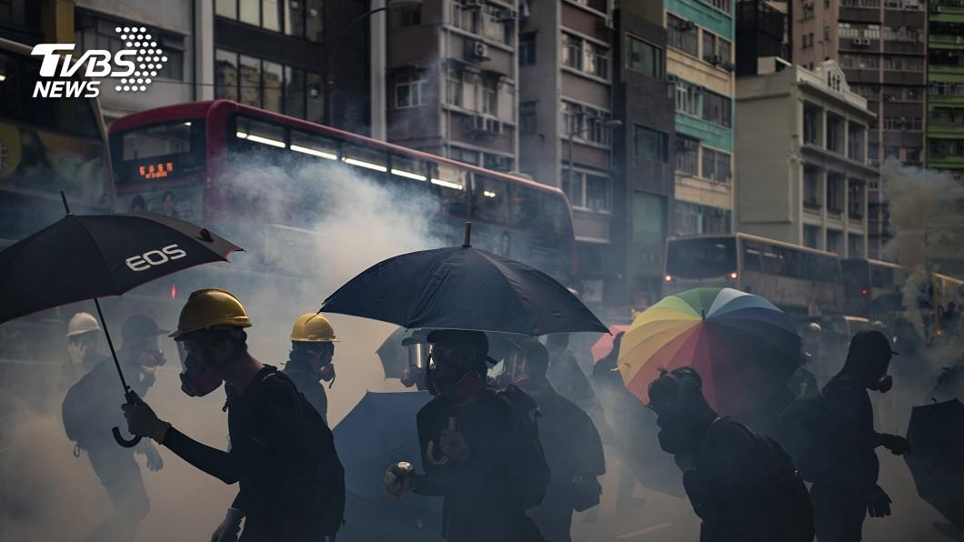 圖/達志影像美聯社 親中議員透露 對話、禁蒙面無效北京才想換人