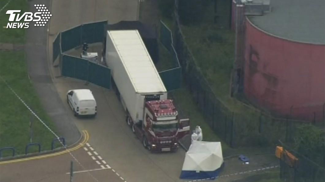 圖/達志影像美聯社 英國貨櫃39屍命案 比媒:使用冷凍櫃有玄機