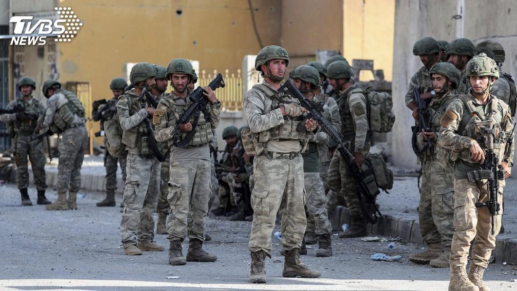 圖/達志影像美聯社 庫德民兵開始撤軍 俄稱土軍留駐敘東北部無時限