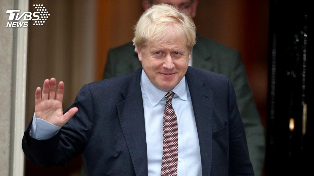 圖/達志影像路透社 強生籲英12月提前大選 首度坦承無法如期脫歐