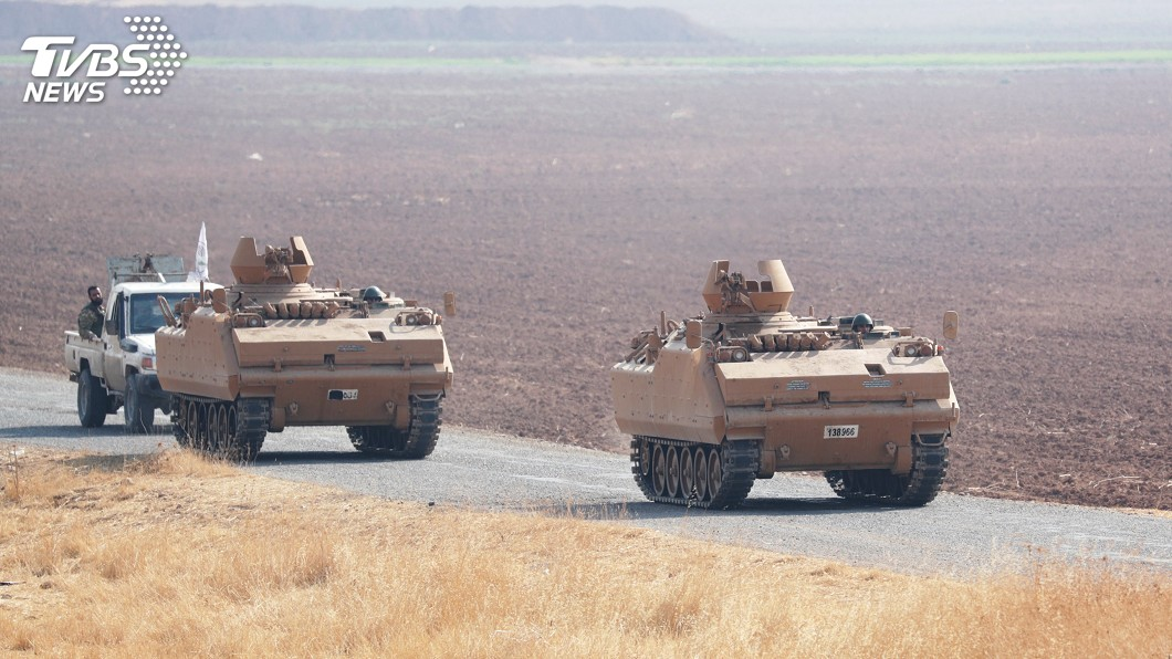 圖/達志影像路透社 艾爾段:敘北已形成10公里深和平走廊