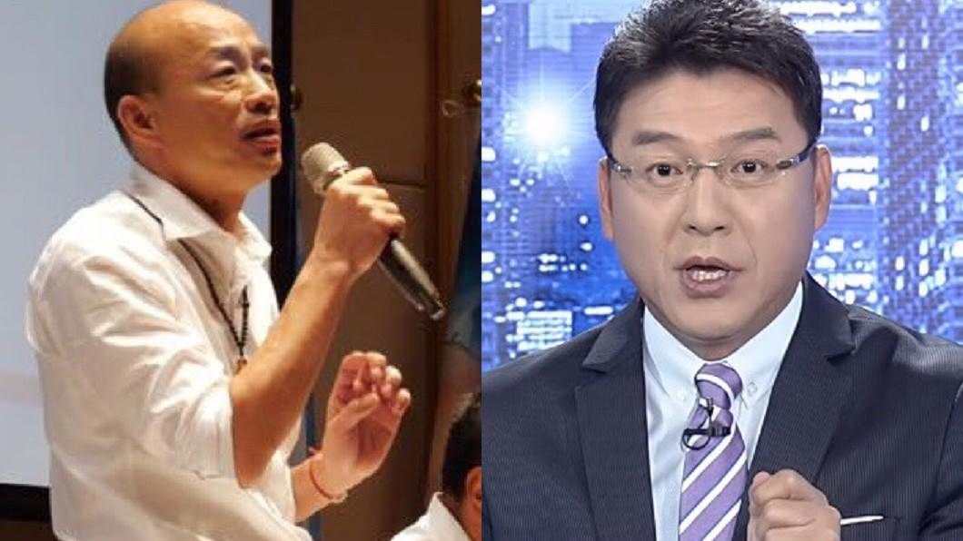 圖/翻攝自YouTube新聞面對面頻道、韓國瑜臉書 被謝震武「怒譙後首同框」!韓國瑜:每天睡前都想到你