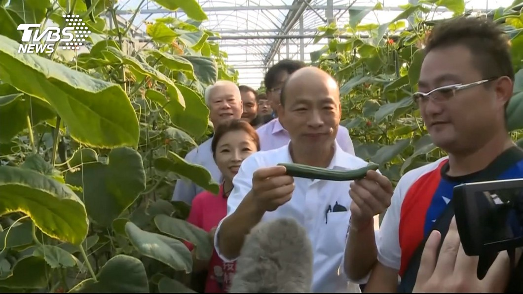 圖/TVBS 韓國瑜走訪雲林先掃海線 30日再跑山線輔選