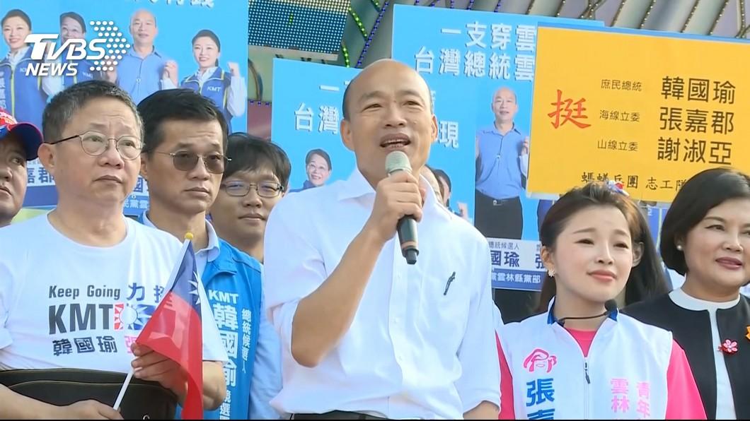 圖/TVBS 3種人可幫韓國瑜?他:若發威恐叫4年韓總統
