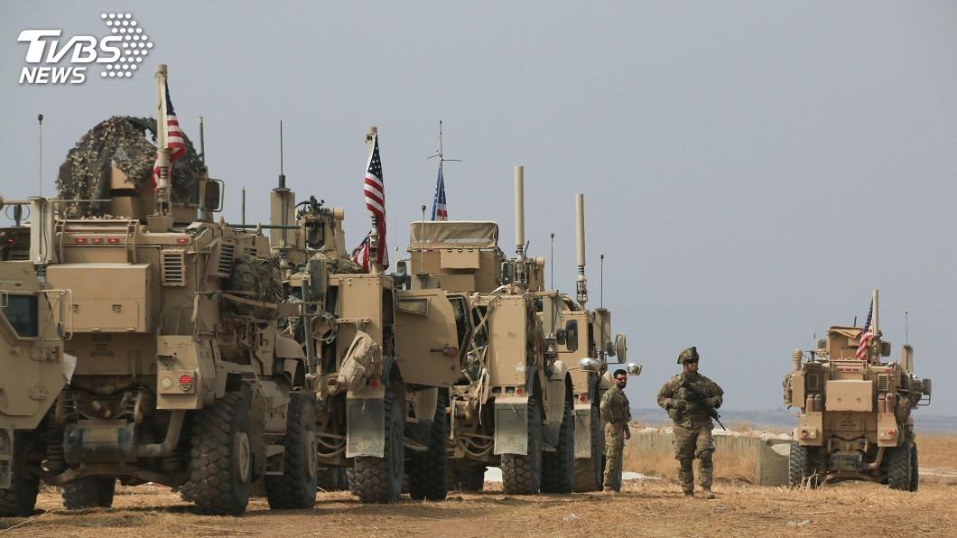 圖/達志影像美聯社 防敘利亞油田落伊斯蘭國手中 美計劃加強駐守