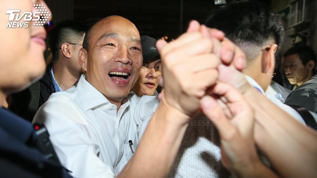 圖/中央社 遭質疑落跑市長 韓國瑜:在天意民意間徘徊不已