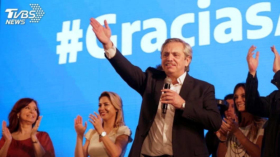 圖/達志影像路透社 阿根廷總統大選 反對黨候選人有望直接勝選