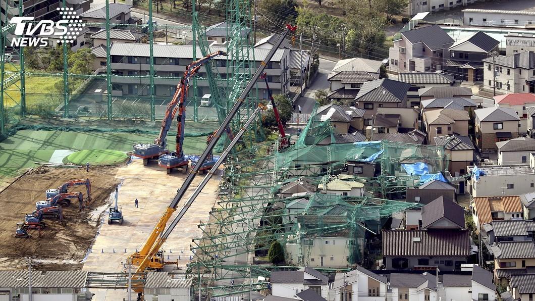 圖/達志影像美聯社 颱風哈吉貝重創 日本將指定「非常災害」助重建