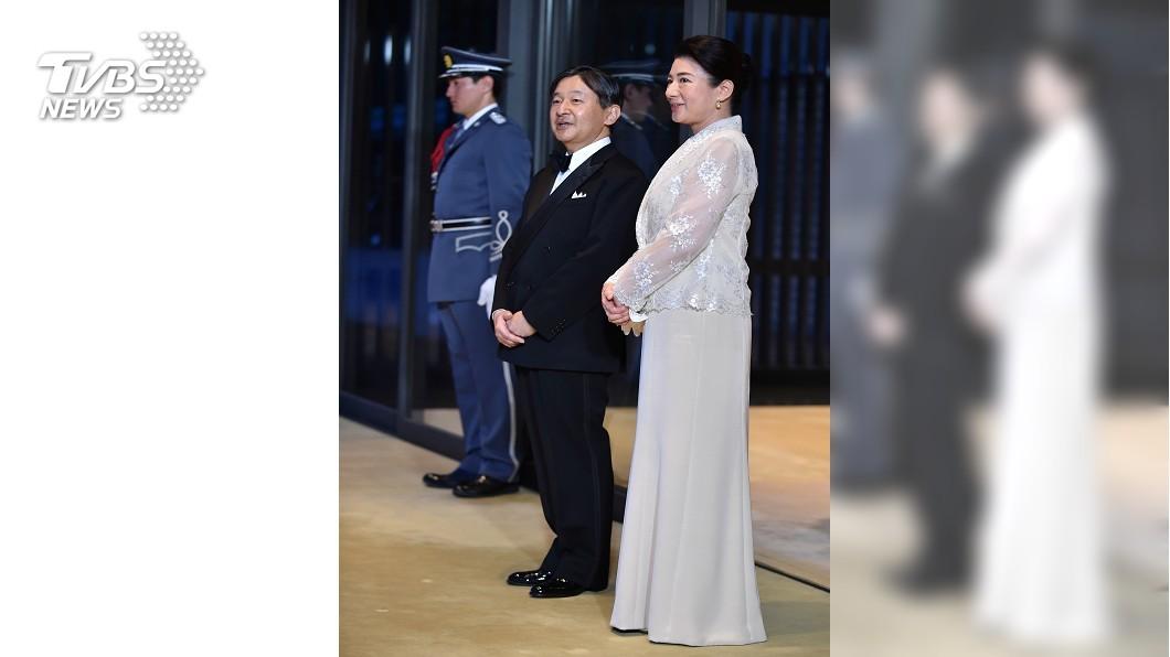 圖/路透社 日后雅子迎賓時尚超吸睛 掀神社晚禮服商機