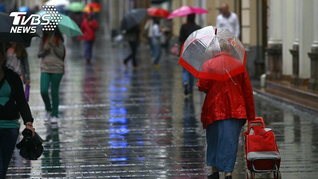 示意圖/TVBS 好天氣剩今天!明起雨連下6天 低溫下探1字頭