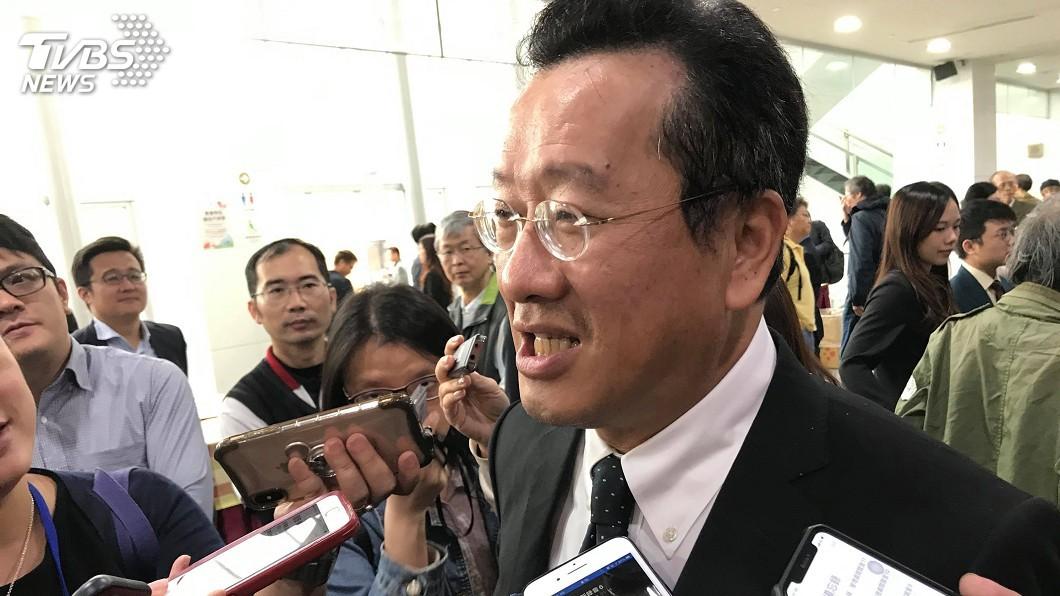 圖/中央社 南山代理董座尹崇堯二度面試 顧立雄考慮親自上陣