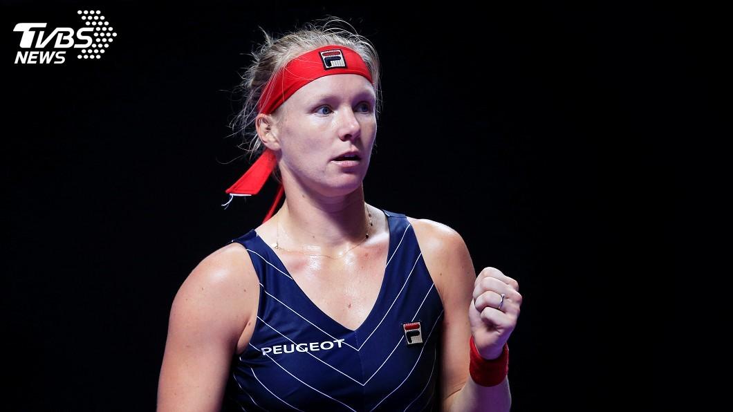 圖/達志影像路透社 WTA年終總決賽 貝坦絲爆冷擊敗球后巴蒂