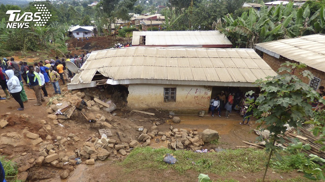 圖/達志影像美聯社 喀麥隆連日大雨引發土石流 一夜奪42命