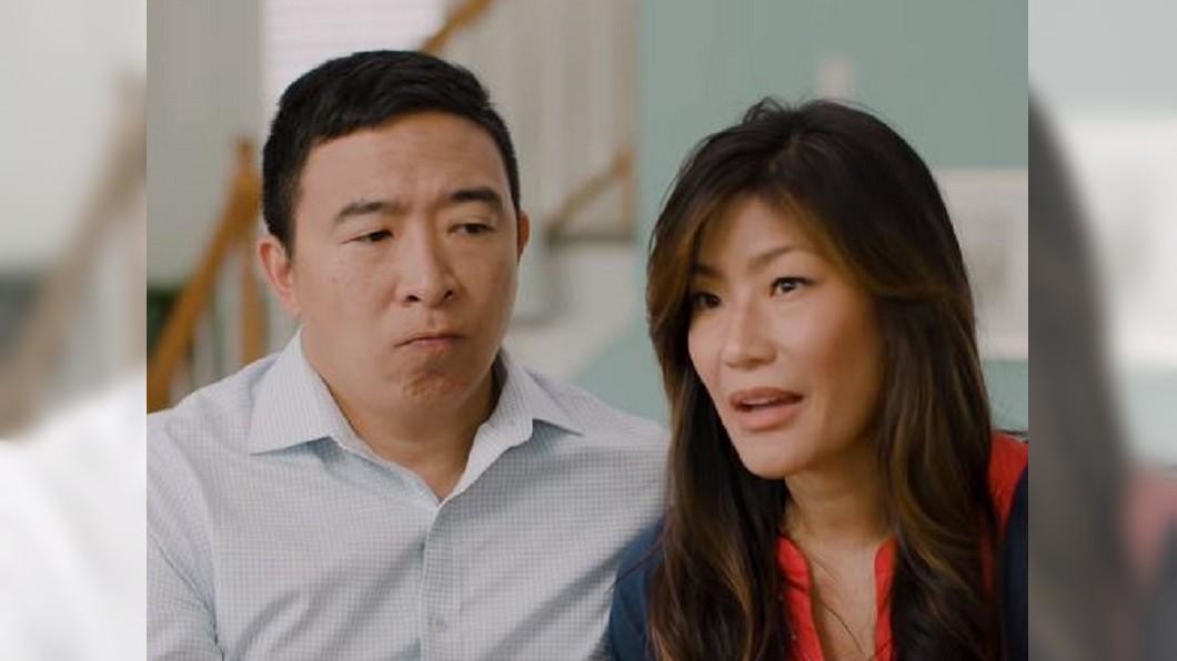 圖/翻攝自  Andrew Yang for President 2020 YouTube 楊安澤推出首支競選廣告! 大打溫馨家庭牌