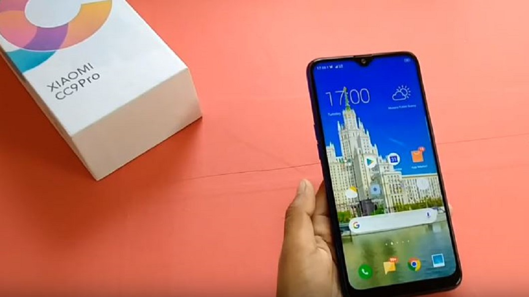 圖/翻攝自 Agrawalji Technical YouTube 全球首款1億畫素手機 小米CC9 Pro超清晰