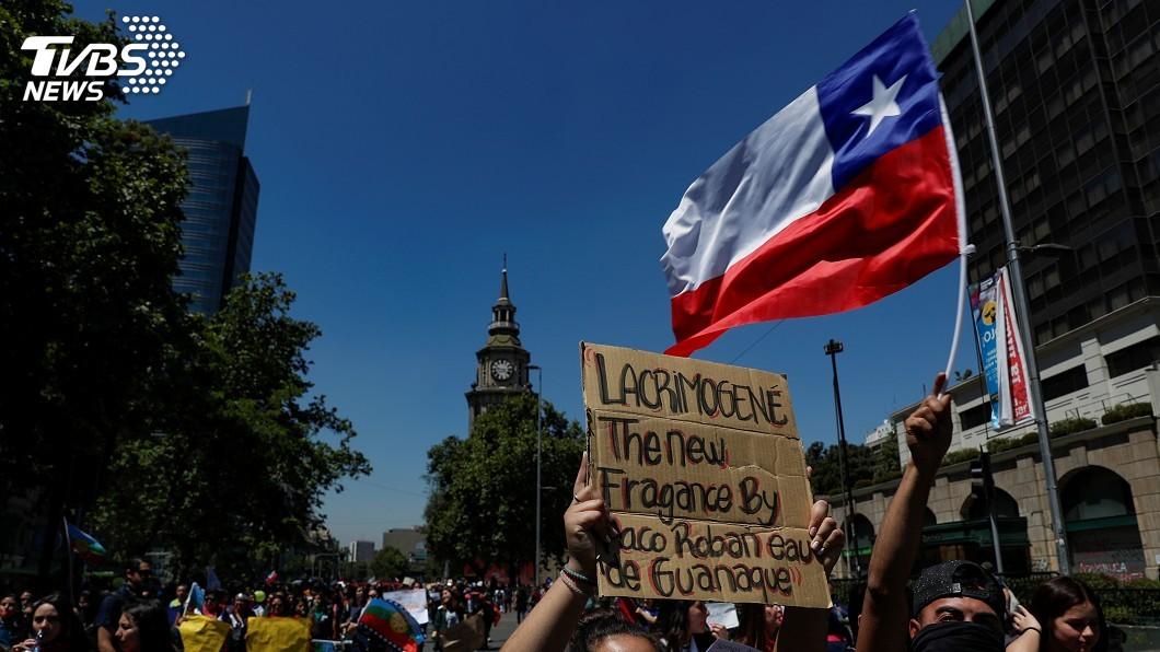 圖/達志影像路透社 智利取消APEC峰會 重挫國際形象旅遊產業