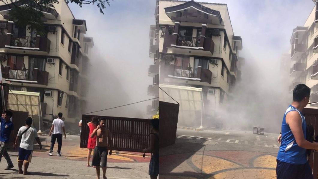 圖/翻攝自推特@KorteSupremo_ 2週3震!菲律賓再傳規模6以上地震 民宅倒塌驚悚曝光