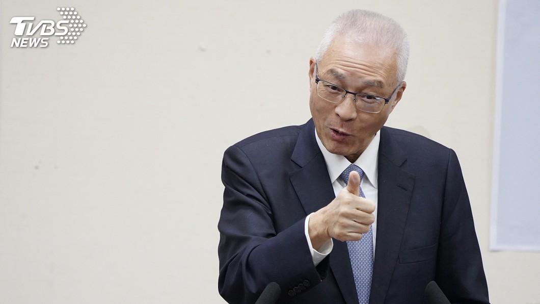 圖/中央社 列不分區安全名單傳反彈 吳敦義:曾歷任三屆立委