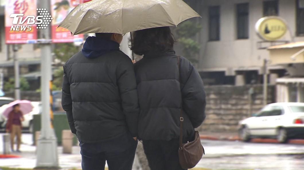 圖/TVBS 東北季風增強!北台灣整天偏涼 低溫下探19度