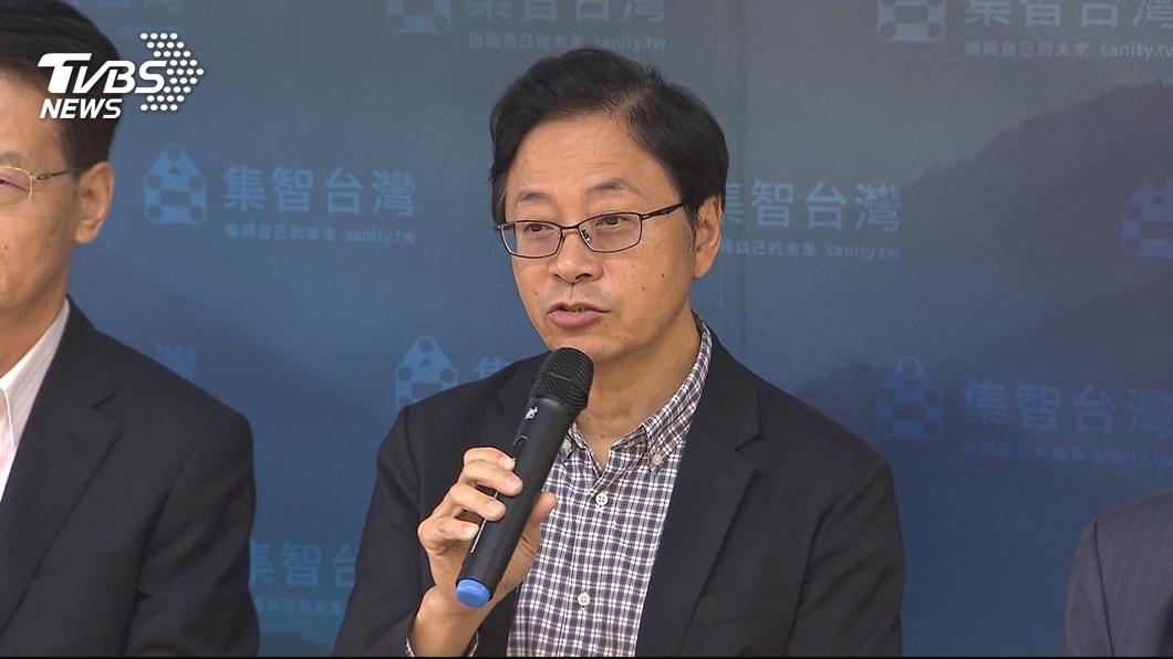張善政坦言現在韓國瑜不受年輕族群支持,未來會加強青年政策讓年輕人有感。(圖/TVBS) 知識藍、經濟藍「韓投不下去?」 張善政:錯覺