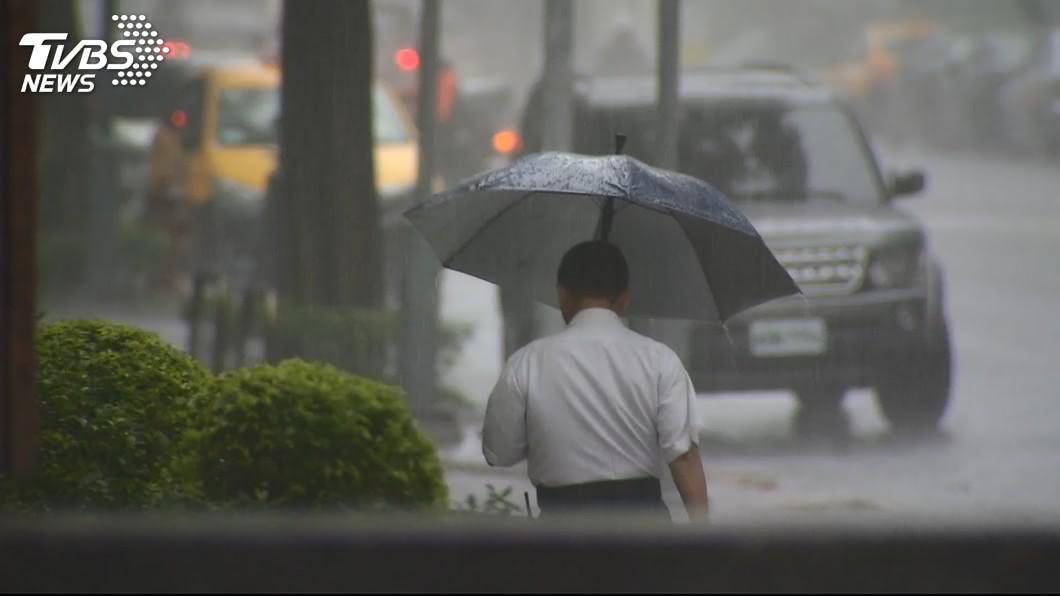 圖/TVBS 西南氣流及滯留鋒面雙重影響 中南部嚴防暴雨