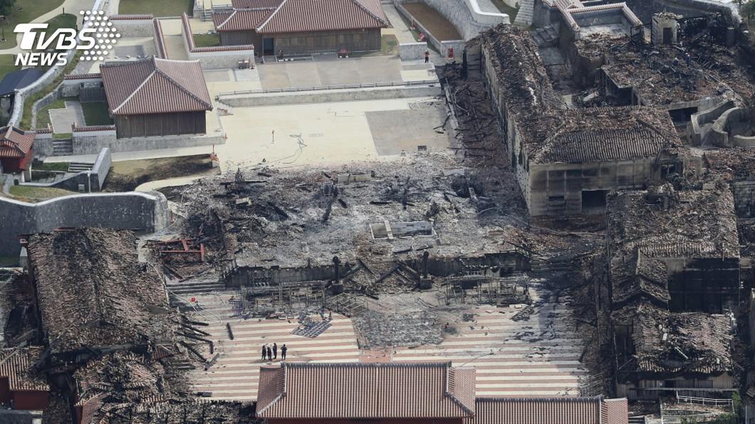 沖繩精神象徵首里城大火日相安倍允諾傾全力助重建│TVBS新聞網