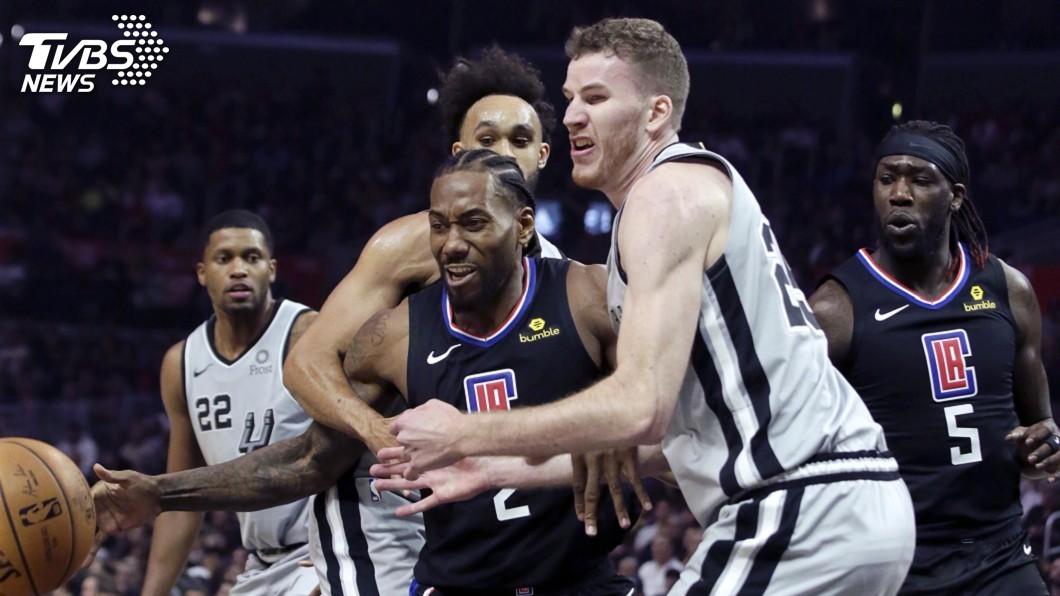 圖/達志影像美聯社 NBA雷納德狂砍38分 率快艇拔馬刺